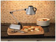bon home hl100sv culinary heat lamp kitchen small appliances kitchen dining. Black Bedroom Furniture Sets. Home Design Ideas