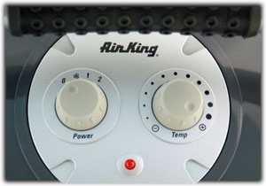 Air King 8900 controls