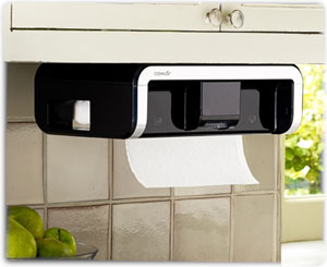 cleancut touchless paper towel dispenser in black - Paper Towel Dispenser