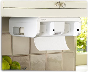 CLEANCut Touchless Paper Towel Dispenser in white