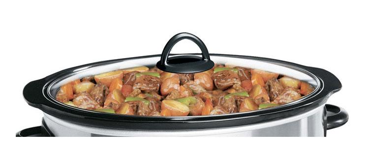 crock pot manual slow cooker 7 qt
