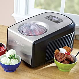 , Cuisinart ICE-100 Compressor Ice Cream and Gelato Maker
