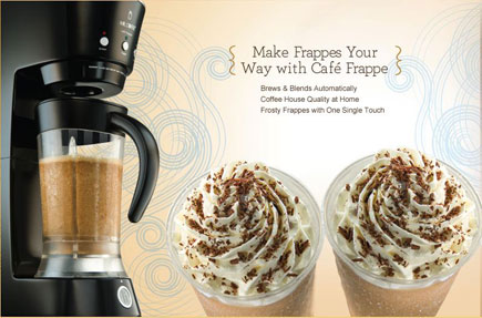Cafe Frappe Recipe Book