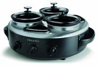 Crock-Pot Triple Dipper Food Warmer