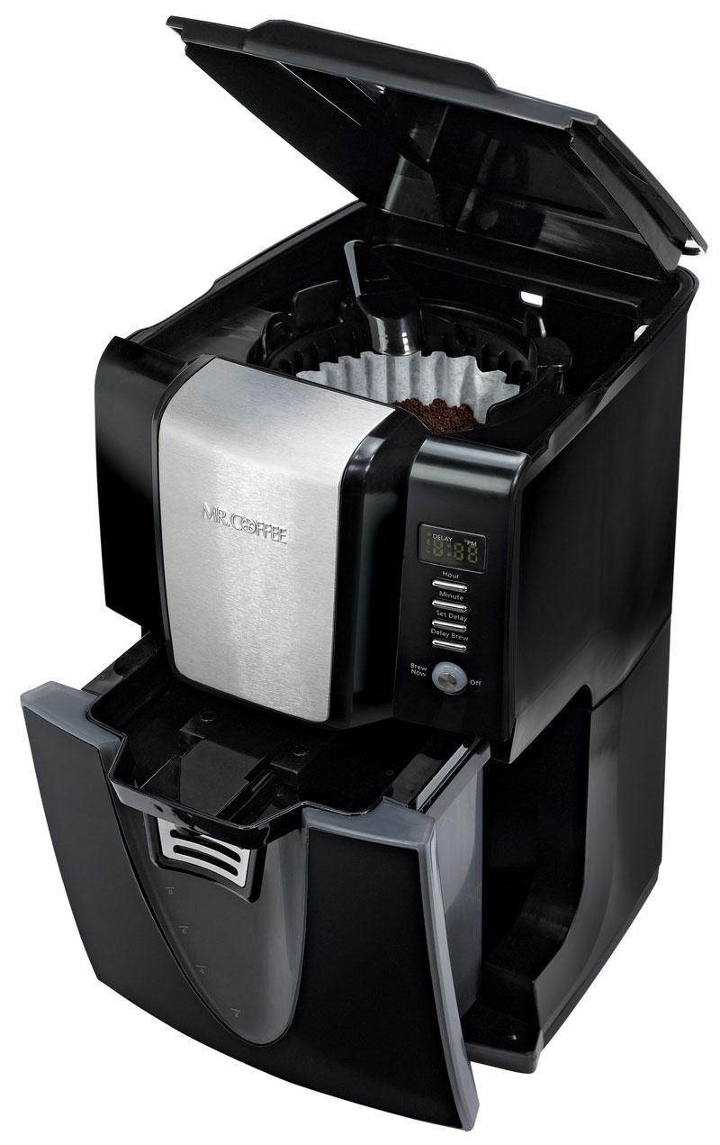 Amazon.com: Mr. Coffee BVMC-ZH1B Power Serve 12-Cup Coffeemaker, Black: Drip Coffeemakers ...