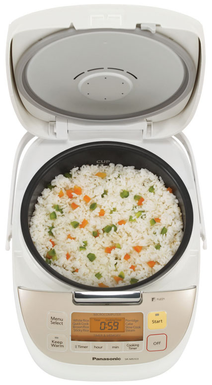 panasonic fuzzy logic rice cooker instructions