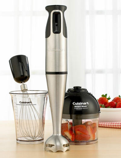 cuisinart csb 77 smart stick hand blender with whisk and chopper attachments. Black Bedroom Furniture Sets. Home Design Ideas
