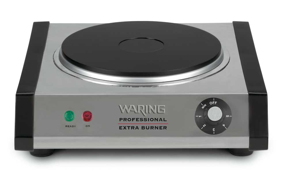 waring db60 portable double burner electric countertop burners kitchen dining. Black Bedroom Furniture Sets. Home Design Ideas