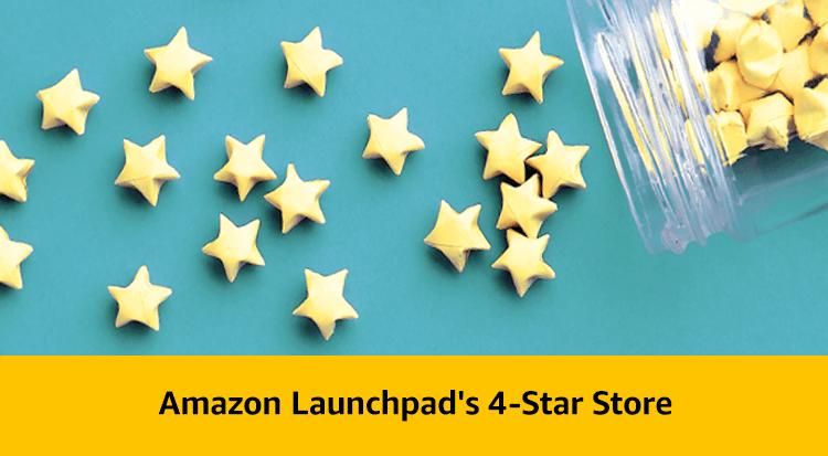 Amazon Launchpad's 4-Star Store