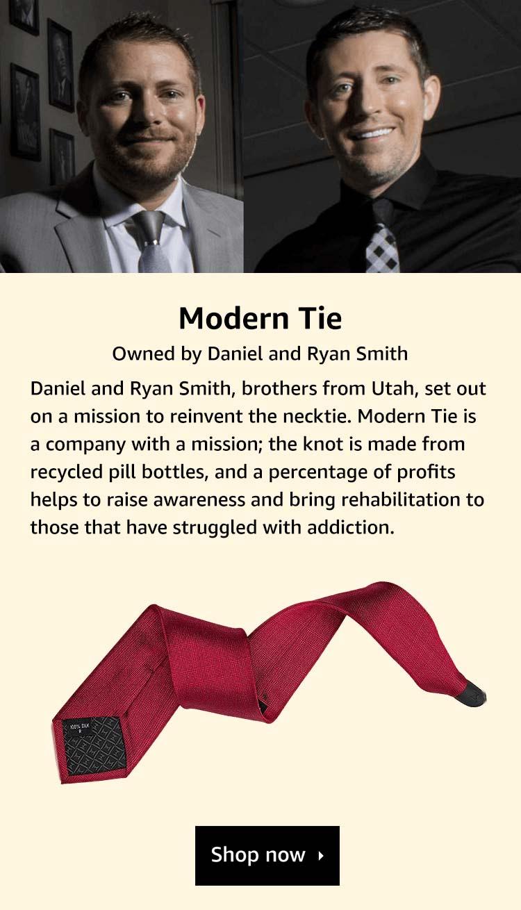 Brand Story, Modern Tie