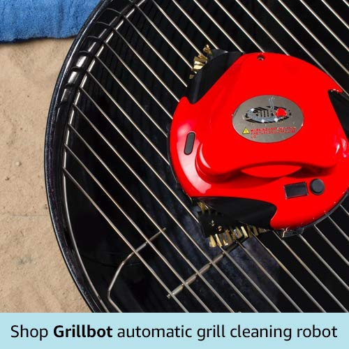 Grillbot grill cleaing robot