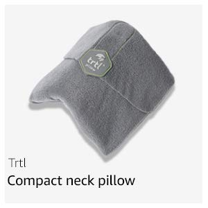 compact neck pillow