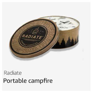 Portable camp fire