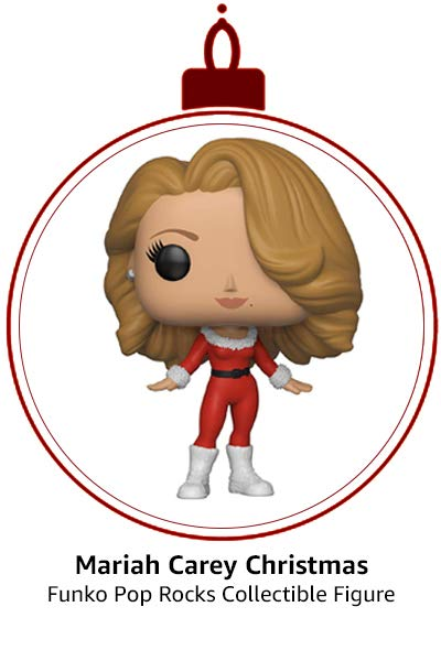 Funko Pop Rocks: Music - Mariah Carey Christmas Collectible Figure