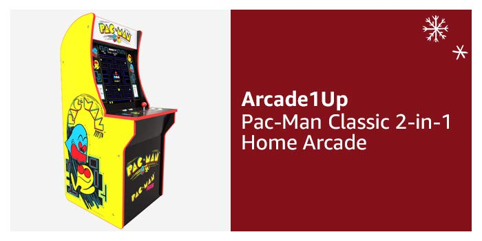 Arcade1Up Pac-Man Classic 2-in-1 Home Arcade