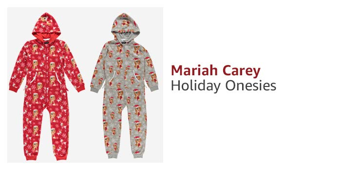 Mariah Carey Holiday Onsies