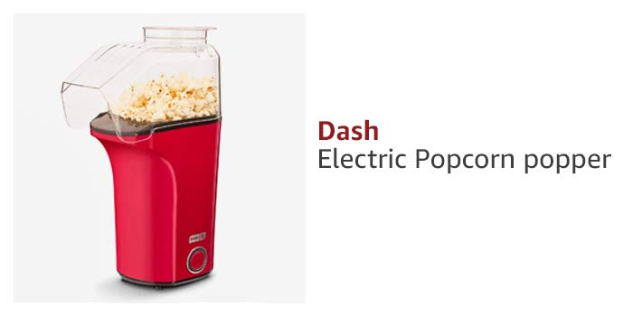 Dash Electric Popcorn popper