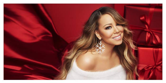 Mariah Holiday Pic