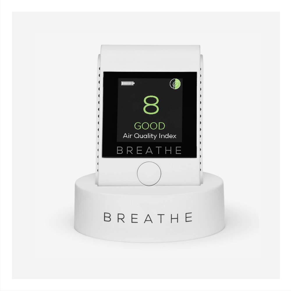 BREATHE|Smart Portable Pollution & Air Quality Monitor
