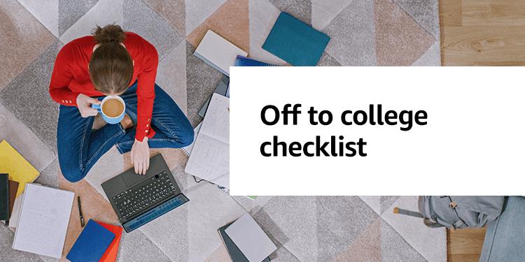 Amazon Launchpad College Checklist