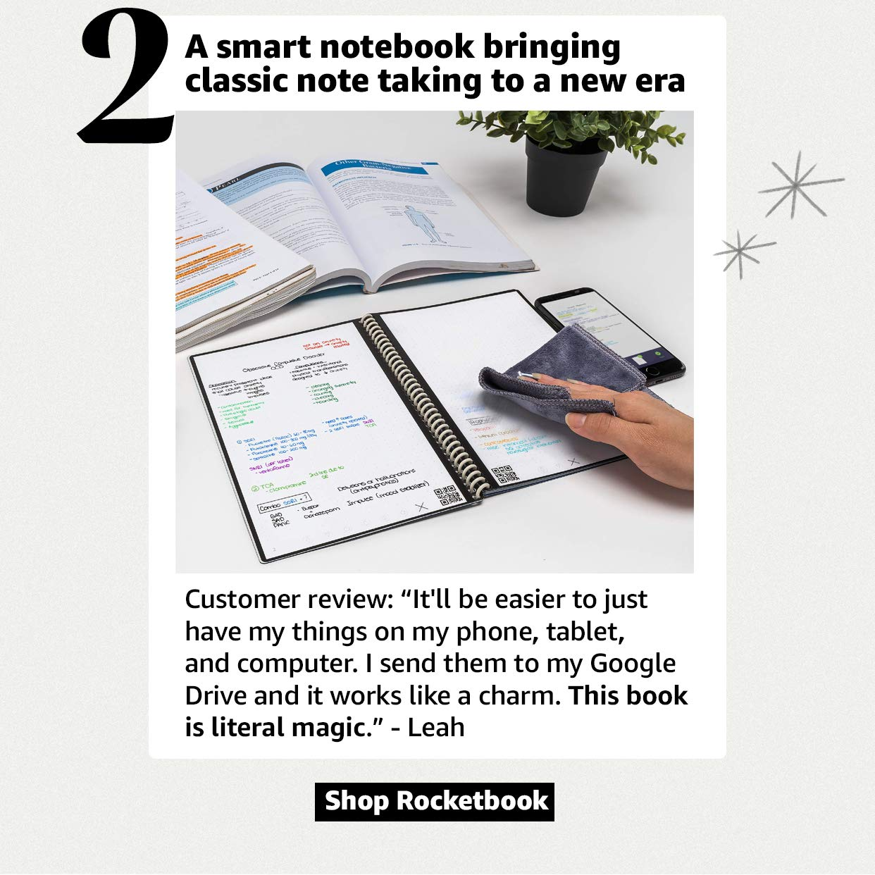 A mart notebook bringing classic note taking to a new era