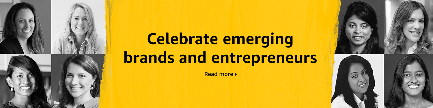 Celebrate emerging brands and entrepreneurs