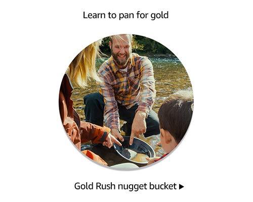 Gold Rush Nugget Bucket