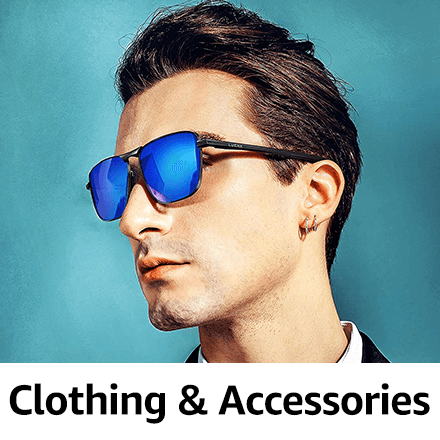 Amazon Launchpad Clothing and Accessories