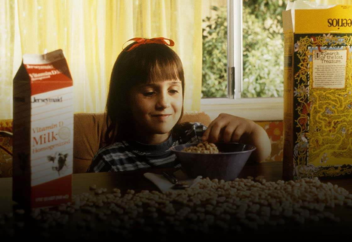 Matilda on Amazon Prime Instant Video UK