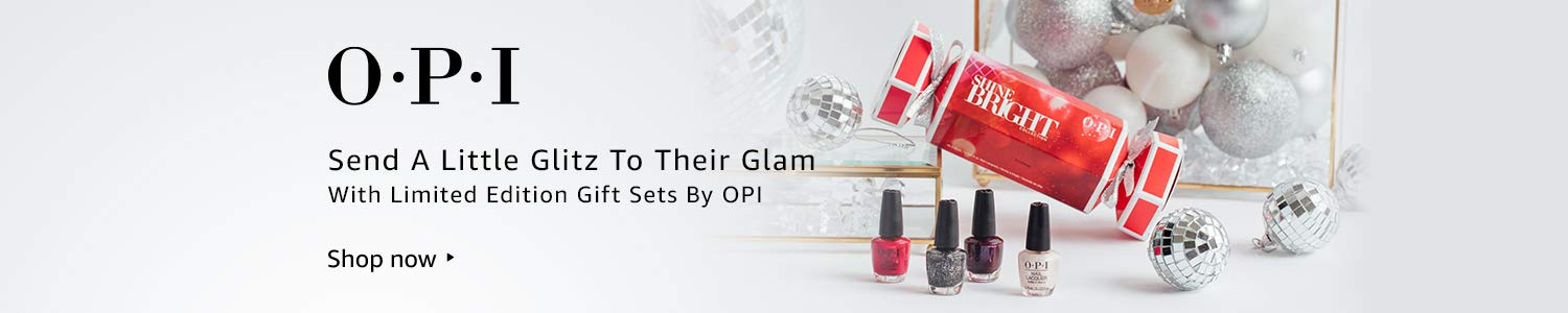 OPI Send a little glitz to their glam with limited edition gift sets by OPI. Shop now.