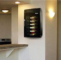 Amazon Com Vinotemp Vt 6ted Wb 6 Bottle Wall Mounted