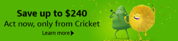 Save up to $240 on Cricket pre-paid plan and iPhone