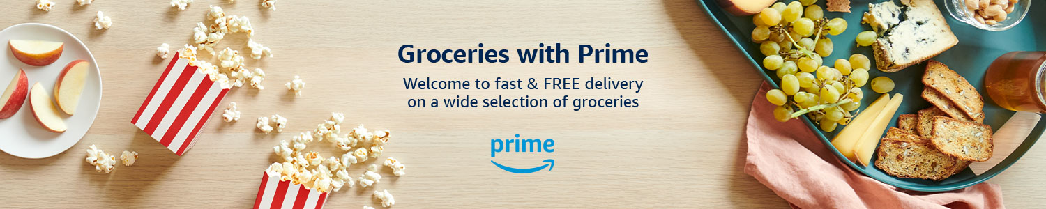Groceries with Prime