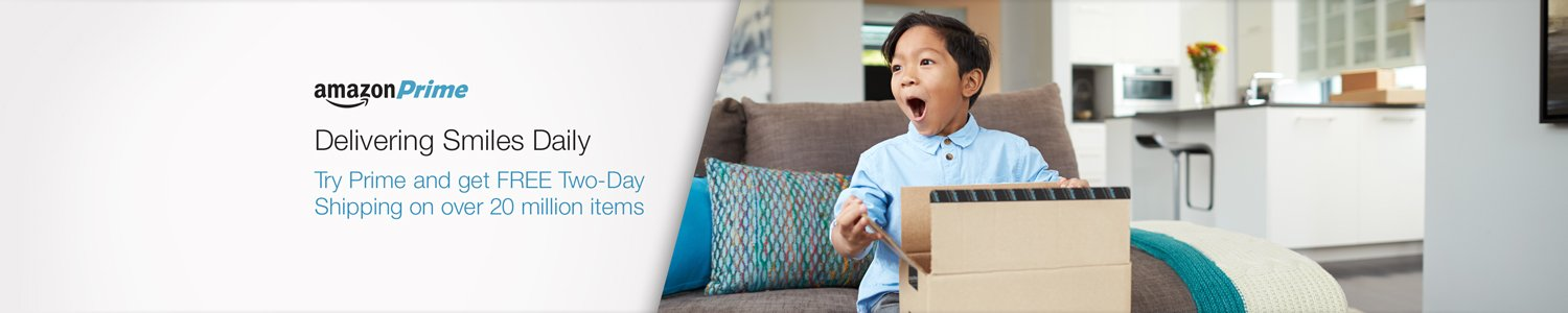 Try Amazon Prime and get FREE Two-Day Shipping on over 20 million items.