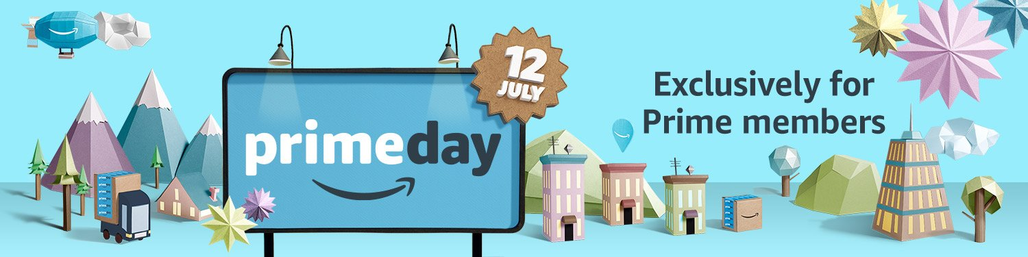 Prime Day is July 12th. The deals are everywhere!