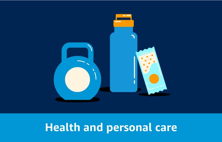 Deals on health and personal care
