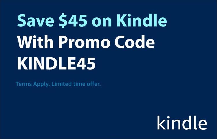 Save $45 on Kindle