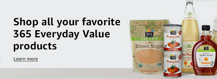 Shop all your favorite 365 Everyday Value products. Learn more