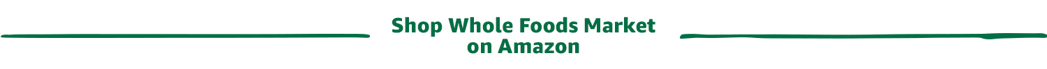 Shop Whole Foods Market on Amazon
