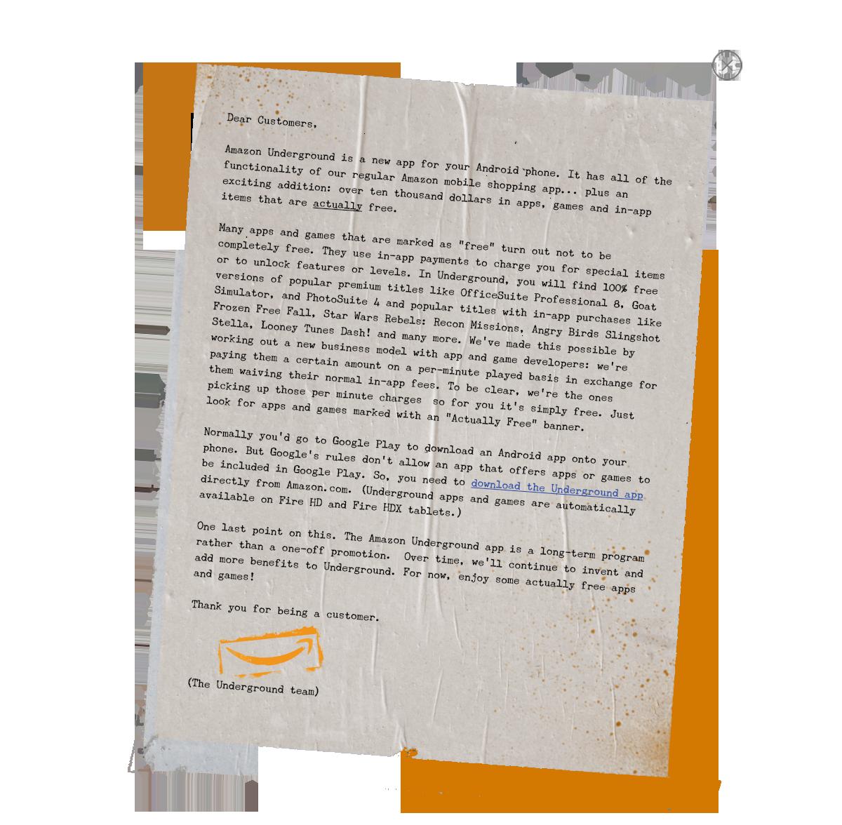Amazoncom apps games - Amazon Just Launched Amazon Underground