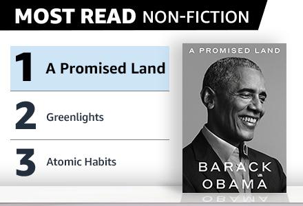 Most Read Non-Fiction
