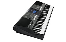 yamaha psr e423 61 key touch sensative portable keyboard with 482 voices. Black Bedroom Furniture Sets. Home Design Ideas