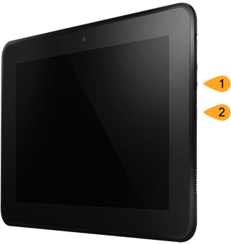 Volume Down and Power Button locations on Kindle Fire tablets