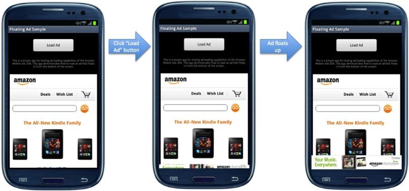 Floating Ad Sample - Amazon Apps & Services Developer Portal