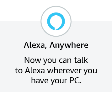 Alexa, Anywhere