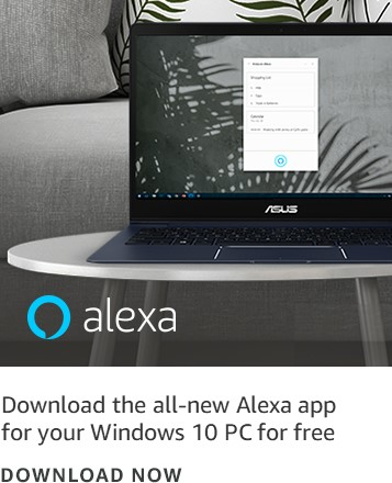Download the all-new Alexa app for your Windows 10 PC for free