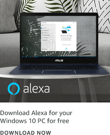 Download Alexa for your Windows 10 PC for free