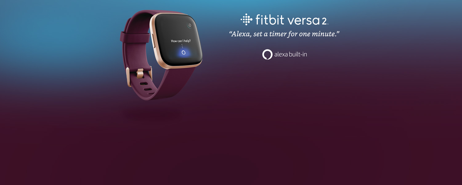 Fitbit Versa 2 | Alexa, set a timer for one minute. | Alexa built-in