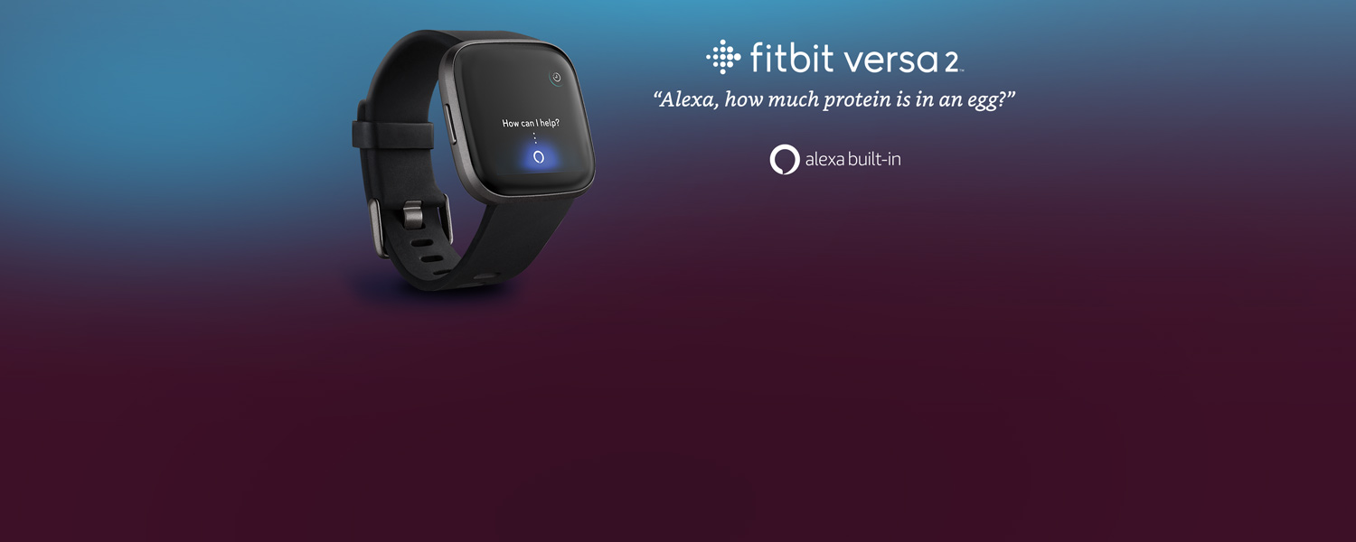 Fitbit Versa 2 | Alexa, how much protein is in an egg? | Alexa built-in