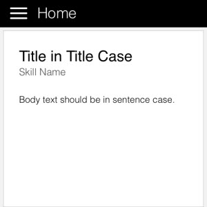 Good example of text casing